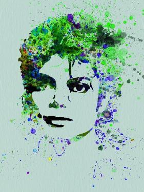 Legendary Michael Watercolor II by Olivia Morgan