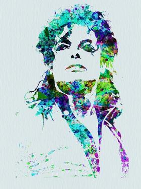 Legendary Michael Watercolor by Olivia Morgan