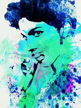 Legendary Prince Watercolor by Olivia Morgan