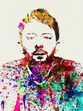 Legendary Radiohead Watercolor by Olivia Morgan
