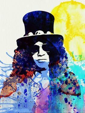 Legendary Slash Watercolor I by Olivia Morgan