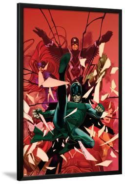 Inhumanity #1 Cover: Black Bolt, Karnak, Medusa, Crystal, Triton, Gorgon by Olivier Coipel