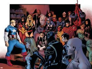 Siege No.2 Group: Captain America by Olivier Coipel