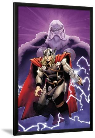 The Mighty Thor No.2 Cover: Thor and Odin