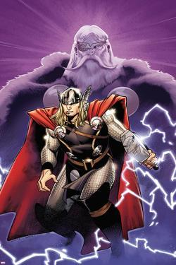 The Mighty Thor No.2 Cover: Thor and Odin by Olivier Coipel