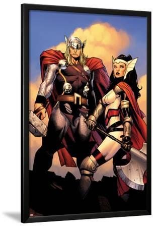 The Mighty Thor No.2: Sif and Thor