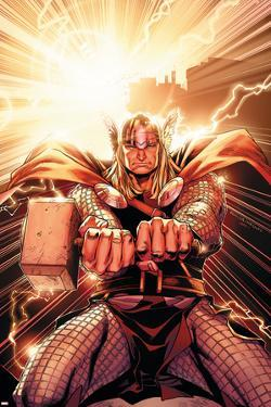 Thor No.11 Cover: Thor by Olivier Coipel