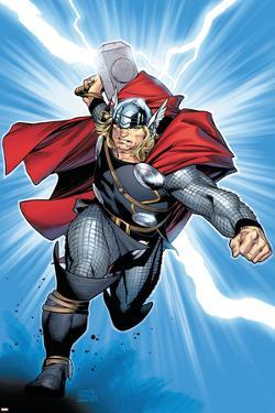 Thor No.6 Cover: Thor by Olivier Coipel