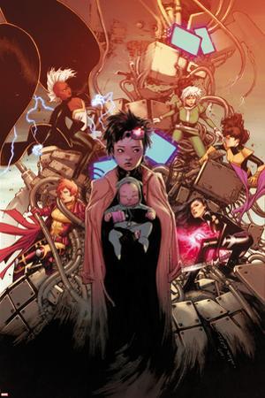 X-Men #2 Cover: Pryde, Kitty, Jubilee, Psylocke, Storm, Rogue, Summers, Rachel, Shogo