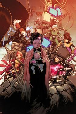 X-Men #2 Cover: Pryde, Kitty, Jubilee, Psylocke, Storm, Rogue, Summers, Rachel, Shogo by Olivier Coipel