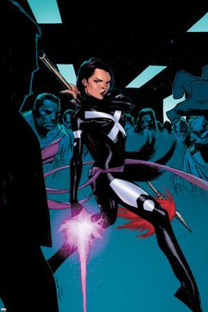 X-Men #3 Cover: Psylocke