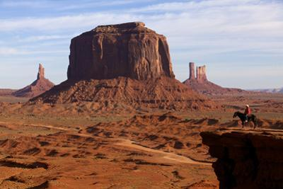 Adrian, Last Cowboy of Monument Valley, Utah, United States of America, North America