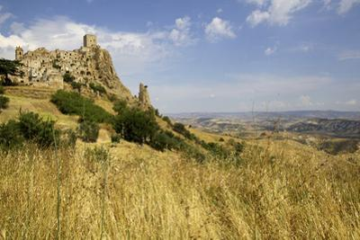 The Citadelle, Deserted Village of Craco in Basilicata, Italy, Europe