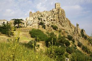 The Citadelle, Deserted Village of Craco in Basilicata, Italy, Europe by Olivier Goujon