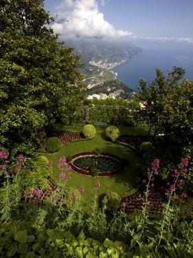 The Gardens of the Villa Cimbrone in Ravello, Amalfi Coast, Campania, Italy, Europe by Olivier Goujon