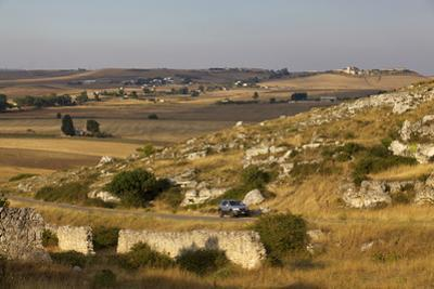 The Landscape around Matera, Basilicata, Italy, Europe