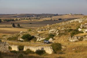 The Landscape around Matera, Basilicata, Italy, Europe by Olivier Goujon