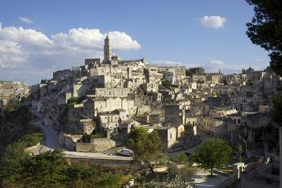 View of Matera from the Church, Matera, Basilicata, Italy, Europe