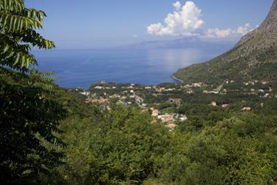 View of the Coast, Maratea, Tyrrhenian Sea, Basilicata, Italy, Europe