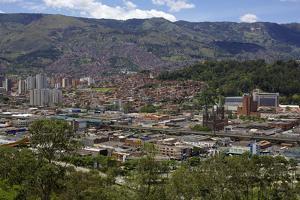 View over the City of Medellin, Colombia, South America by Olivier Goujon