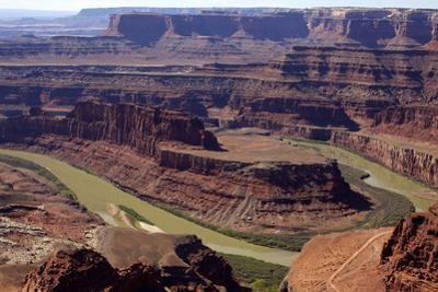 View over the Colorado River, Utah, United States of America, North America