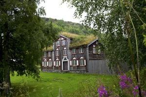 Wooden Houses, Trondheim, Norway, Arctic, Scandinavia, Europe by Olivier Goujon