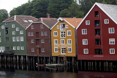 Wooden Houses, Trondheim, Norway, Europe
