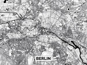 Monochrome Deco - Berlin by Olivier Gratton-Gagne