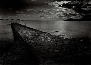 Jetty near the Palm Beach by Olivier Meriel