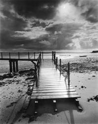 Affordable Piers (B&W Photography) Posters for sale at