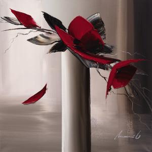 En Rouge et Gris I by Olivier Tramoni