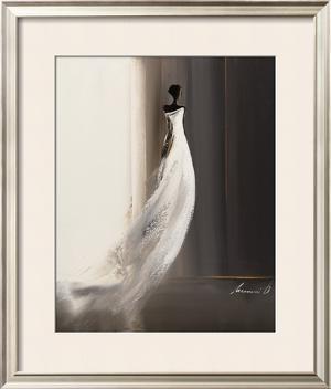 Silhouette Feminine I by Olivier Tramoni