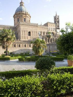 Cathedral Gardens, Palermo, Sicily, Italy, Europe by Olivieri Oliviero
