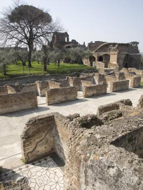 Hadrian's Villa, UNESCO World Heritage Site, Tivoli, Near Rome, Lazio, Italy, Europe by Olivieri Oliviero