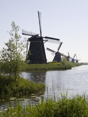 Kinderdijk Windmills, UNESCO World Heritage Site, Holland, Europe by Olivieri Oliviero