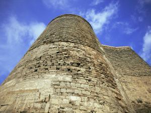 Maiden Tower, Baku, Azerbaijan, Central Asia by Olivieri Oliviero