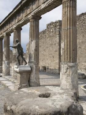 Temple of Apollo, Pompeii, UNESCO World Heritage Site, Campania, Italy, Europe by Olivieri Oliviero