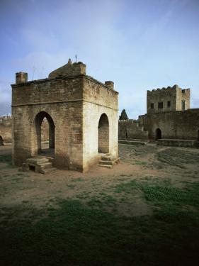 Temple of Atesgah, Zoroastrian Cult, Baku, Azerbaijan, Central Asia by Olivieri Oliviero