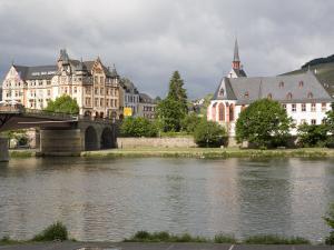 Town of Bernkastel Along the Rhine, Rhineland-Palatinate, Germany, Europe by Olivieri Oliviero