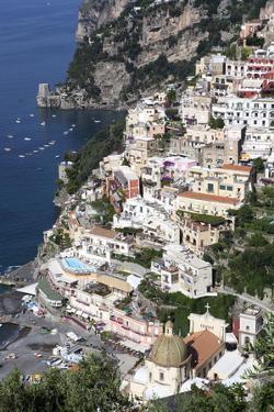 View of Positano by Oliviero Olivieri