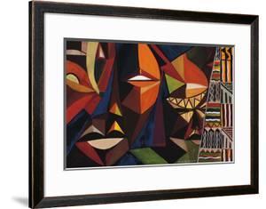 Maskermorphosis I by Olu Jimi Adeniyi