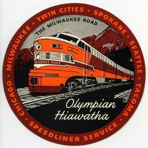 Olympian Hiawatha Tag
