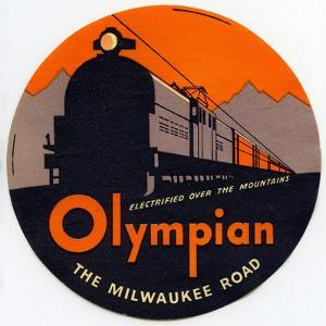 Olympian, the Milwaukee Road: Electrified over the Mountains