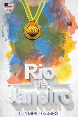 Olympics 2016- Rio De Janeiro Color Bursts