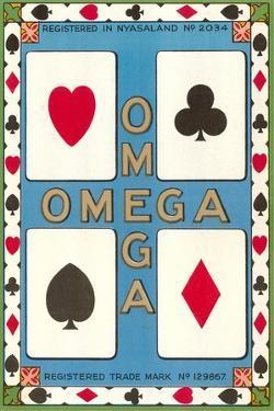 Omega Playing Card