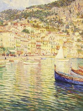 Villefranche on the French Riviera by Omer Coppens