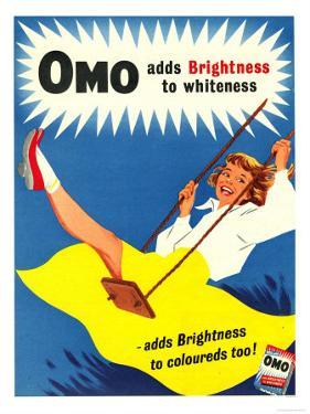 Omo, Washing Powder Products Detergent, UK, 1950