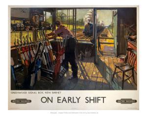 On Early Shift, Greenwood Signal Box, New Barnet