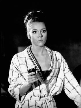 ON HER MAJESTY'S SECRET SERVICE, 1969 directed by PETER HUNT Diana Rigg (photo)
