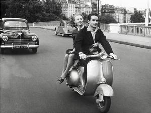 On Motorscooter